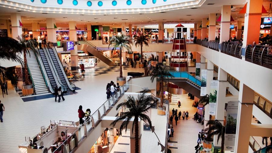 Tepe Nautilus Shopping Mall, Istanbul, Turkey